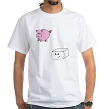 3-save a pig eat tofu 2 Shirt