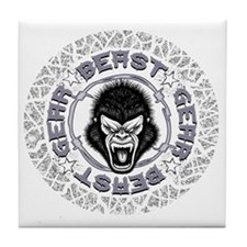 Beast Gear Tile Coaster