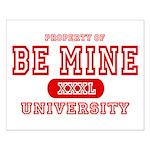 Be Mine University Small Poster