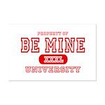 Be Mine University Mini Poster Print