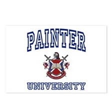 PAINTER University Postcards (Package of 8)