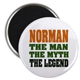 NORMAN - the legend! Magnet