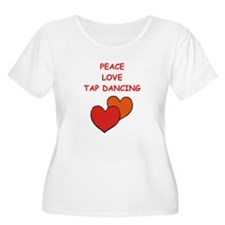tap Plus Size T-Shirt