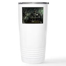 3-haunted_house_big Thermos Mug