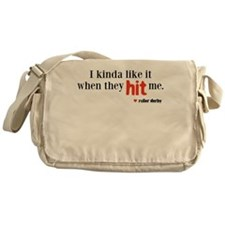 hit me Messenger Bag