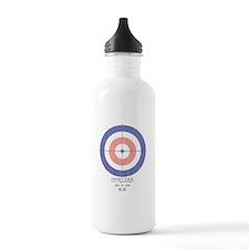 final curls logo Water Bottle
