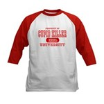 Cupid Killer University Kids Baseball Jersey