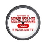 Cupid Killer University Wall Clock