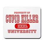 Cupid Killer University Mousepad