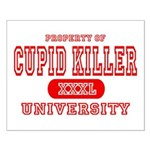 Cupid Killer University Small Poster