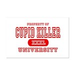Cupid Killer University Mini Poster Print
