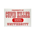 Cupid Killer University Rectangle Magnet (10 pack)