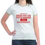 Cupid Killer University Jr. Ringer T-Shirt