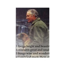 James Herriot Rectangle Magnet