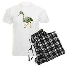 calligraphy bird 02 Pajamas