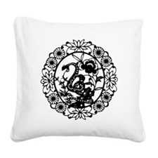 SnakeB1 Square Canvas Pillow