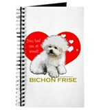 Bichon Frise Valentine Heart Journal