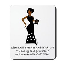 SISTAH WITH PLAN Mousepad