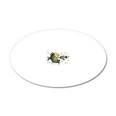 Fish-Camp-Logo.gif 20x12 Oval Wall Decal