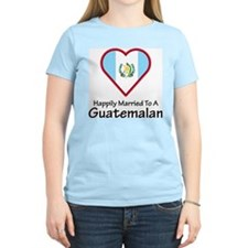 Happily Married Guatemalan Women's Pink T-Shirt