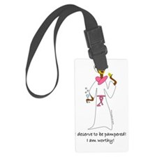 pampered Luggage Tag