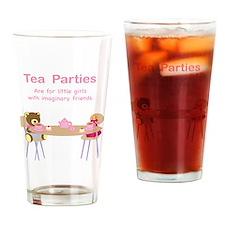 tea parties Drinking Glass