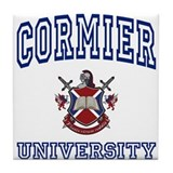CORMIER University Tile Coaster