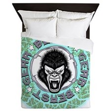 2-Beast Gear Queen Duvet