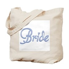Amore Bride Blue Tote Bag