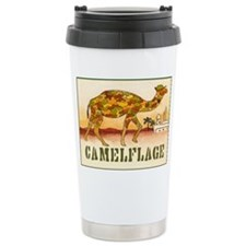 CAMELFLAGE greeting card Ceramic Travel Mug