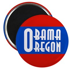 Obama Oregon Magnet for 2008