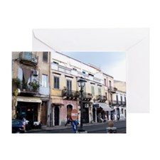 taormina_print_2 Greeting Card