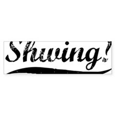 Shwing-(white-shirt) Bumper Sticker