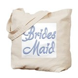 Amore Bridesmaid Blue Tote Bag