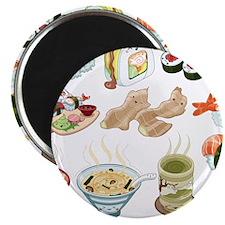 Kawaii Sushi Ban Cafe Magnet