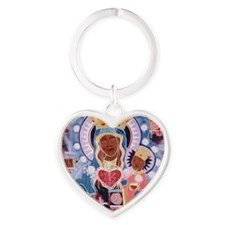 I am erzuli Heart Keychain