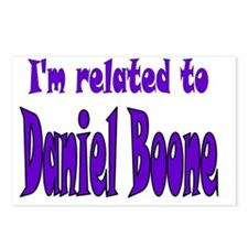 Daniel Boone Postcards (Package of 8)