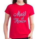 Amore Maid Honor Blue Tee