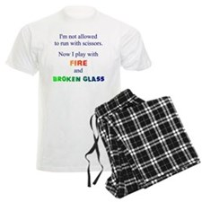 Fire and Broken glass 12 Pajamas