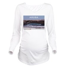 Aruba Long Sleeve Maternity T-Shirt