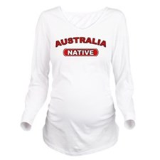 Australia Native Long Sleeve Maternity T-Shirt