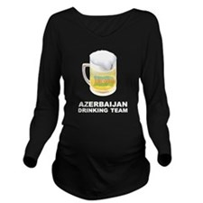 Funny Azerbaijan Long Sleeve Maternity T-Shirt