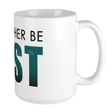 Id-Rather-Be-Lost-(white-shirt) Large Mug