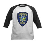 Anderson Police Kids Baseball Jersey