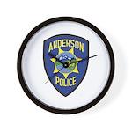 Anderson Police Wall Clock