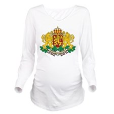 Bulgaria Coat Of Arms Long Sleeve Maternity T-Shir
