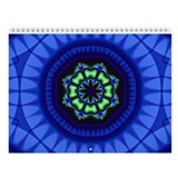 Groovy Fractal Art Wall Calendar