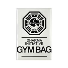 Dharma Gym Bag Rectangle Magnet