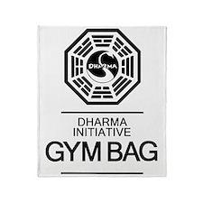 Dharma Gym Bag Throw Blanket