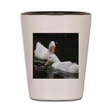 berty gulliver flirtation path on water Shot Glass
